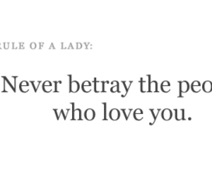 betray, etiquette, and lady image