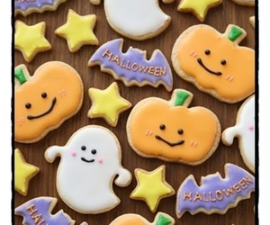 cookie, Halloween, and ghost image