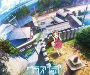 anime girl, glasslip, and touko fukami image