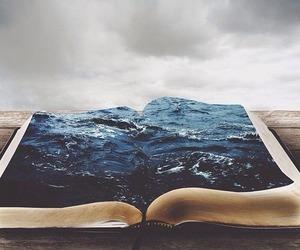 book, sea, and ocean image