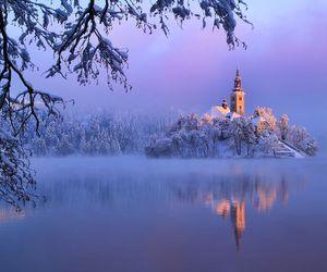 lake, place, and slovenia image