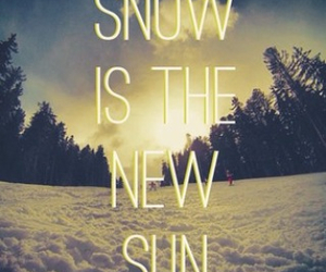 life, snow, and snowboard image