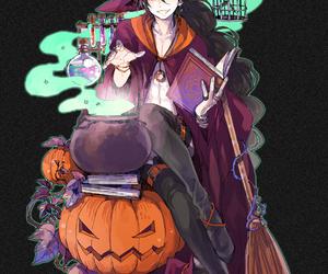 anime, boy, and Halloween image