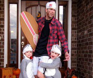 Halloween, shark, and children image