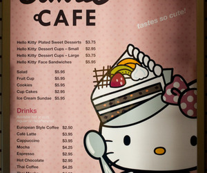 hello kitty, pink, and OMG image