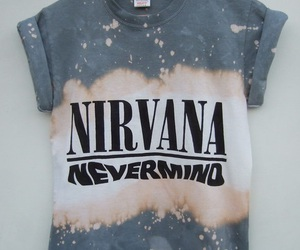 nirvana, fashion, and Nevermind image