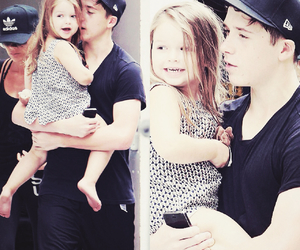 brooklyn beckham, harper beckham, and cute image