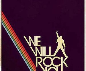 Queen and we will rock you image