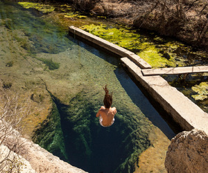 jump and water image