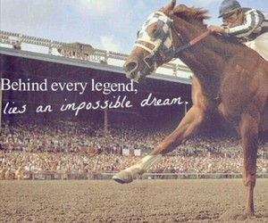 Dream, horse, and legend image