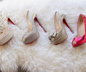 shoes, girly, and luxury image