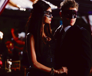 stefan salvatore, Nina Dobrev, and the vampire diaries image