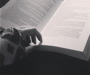 book, autumn, and girl image
