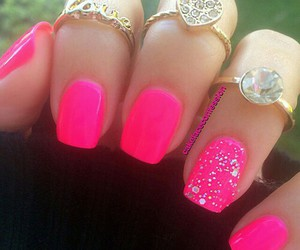 pink, rings, and bright image