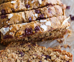 roasted banana bread and toasted coconut chocolate image