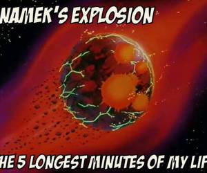 dragonball z, explosion, and life image