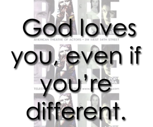 different, god, and musicals image