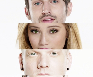 eyes, face, and mitch grassi image