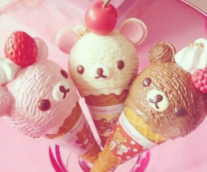 ice cream, soo cute, and kawaii image