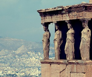 Greece, Athens, and statue image