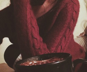 autumn, hot drinks, and blanket image