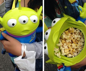 Pop cOrn and toy story image