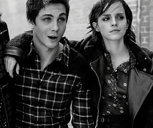 logan lerman, charlie, and emma watson image