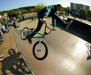 bike, boy, and photography image