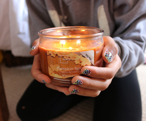 candle, girl, and quality image