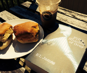 breakfast, paradise, and fifty shades of grey image