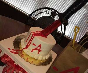 cake and pretty little liars image