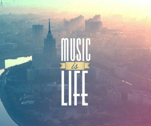 is, life, and music image
