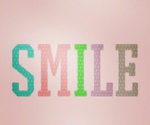 be, happy, and smile image