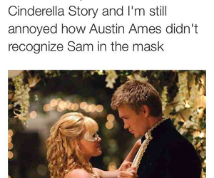a cinderella story, austin ames, and funny image