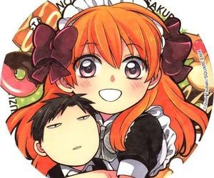 nozaki, gekkan shoujo nozaki kun, and sakura image