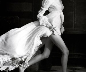 vogue and black and white image