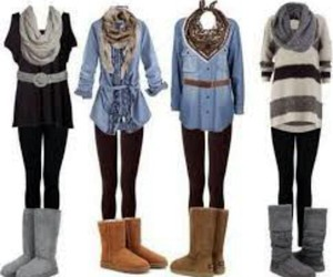 outfit, scarf, and winter image