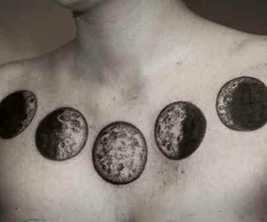 moon and Tattoos image