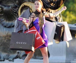 shopping, gossip girl, and gucci image