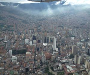 buildings, colombia, and downtown image