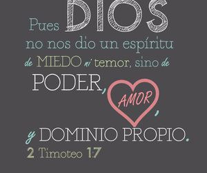 amor, dios, and dominio image