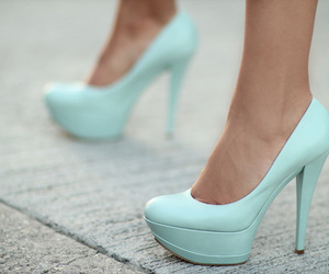blue, heels, and photography image