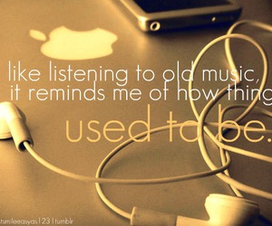 apple, used to be, and music image