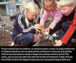 finland and school image
