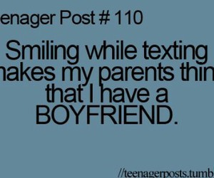 boyfriend, parents, and quote image