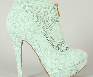 shoes, heels, and mint image