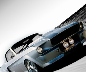 cars, eleanor, and ford image