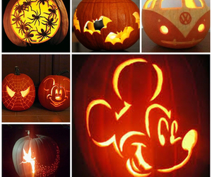 cold, Halloween, and pumpkin image