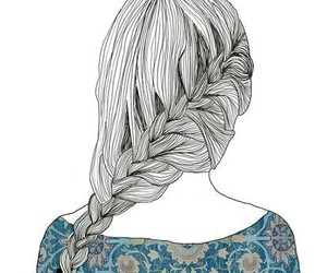 art, beauty, and hairstyle image
