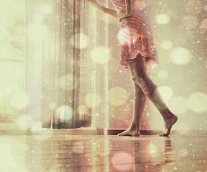 dress, window, and girl image